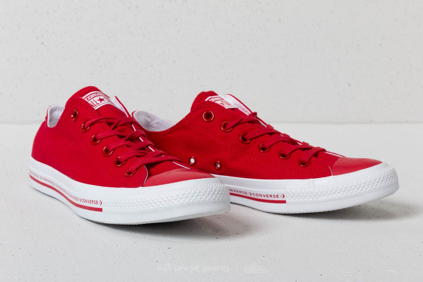 2be3868659bb52 ... italy converse chuck taylor all star ox enamel red enamel red white at  a great 0471a