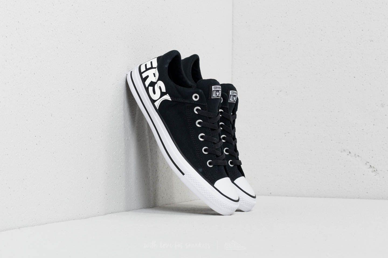 f2d33a4590f7 Converse Chuck Taylor All Star High Street OX Black  Black  White ...