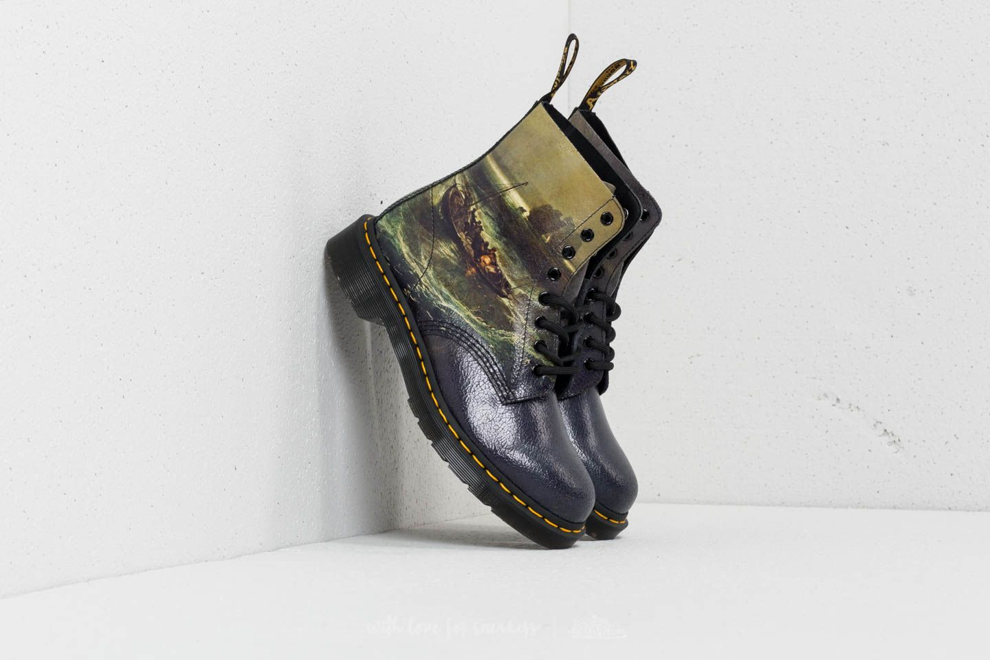 Dr. Martens x JMW Turner 1460 Fisherman Pascal Suede Multi