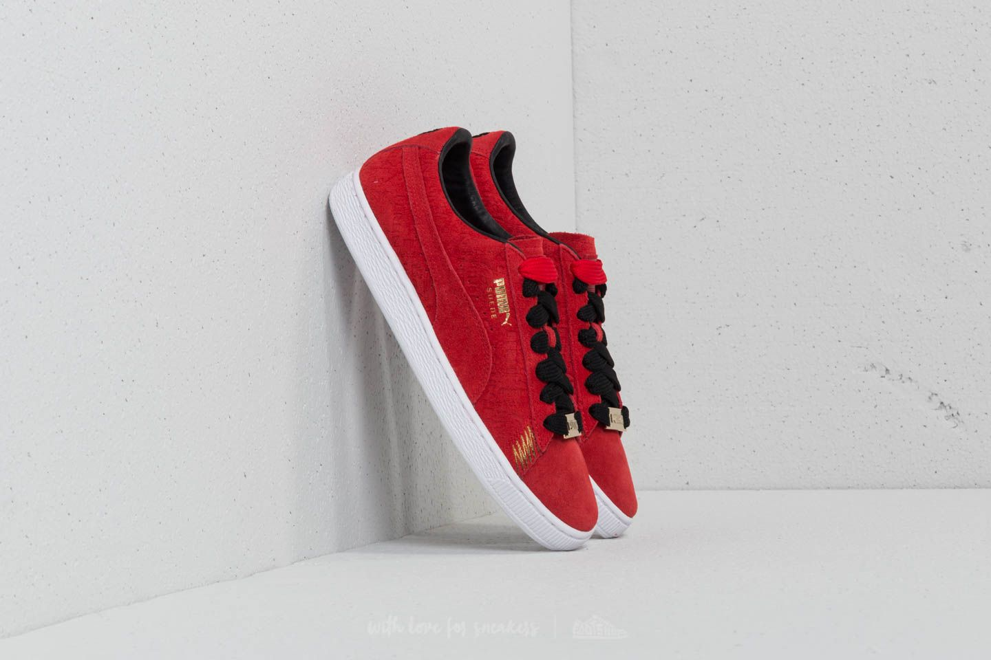 Puma Suede Classic Berlin Flame Scarlet-Flame Scarlet