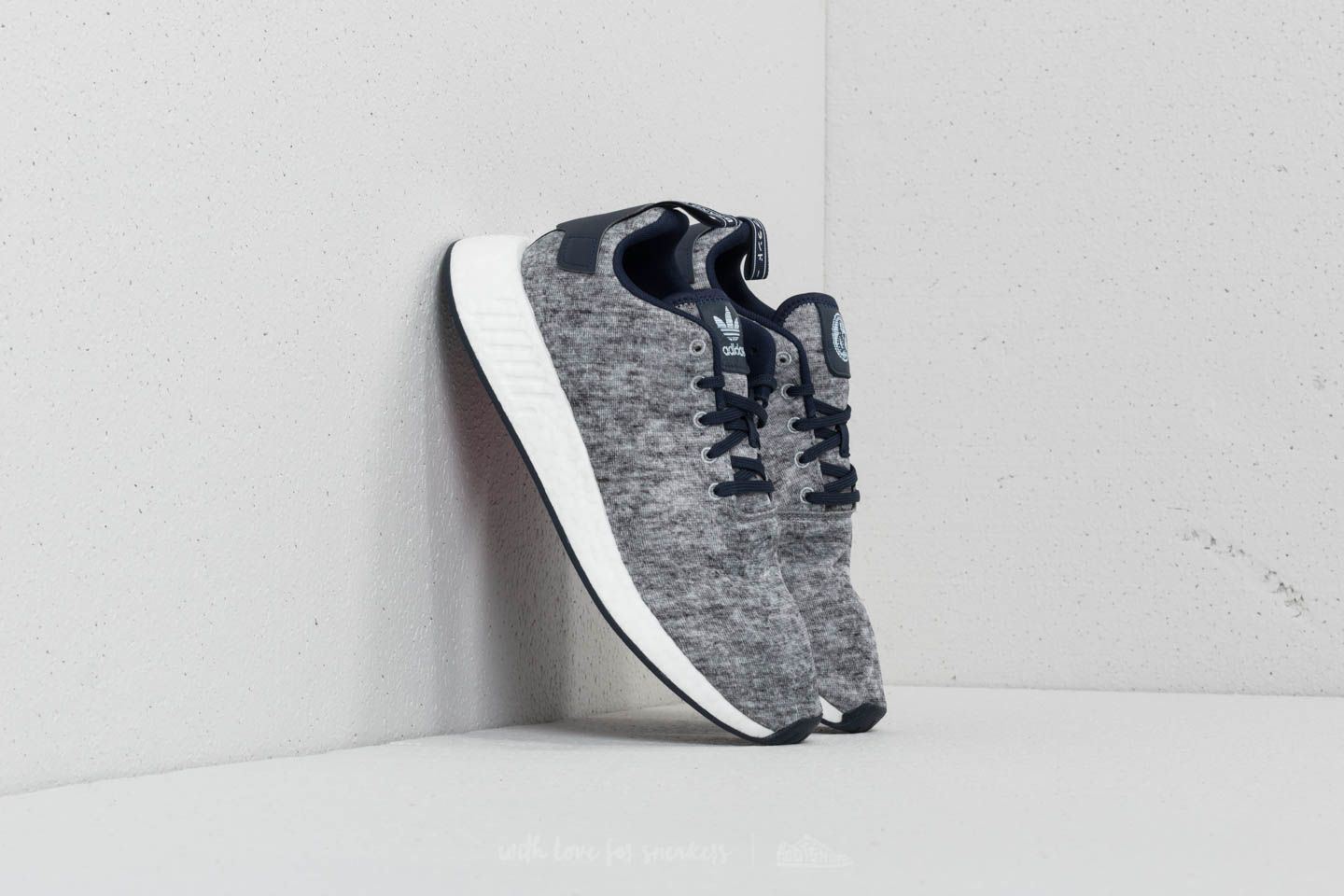 d35bc1927 adidas NMD R2 UAS Core Heather  Metallic Silver  Ftw White at a great price