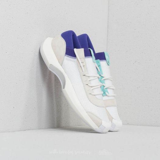 b3b110befd3 adidas Consortium x Nicekicks Crazy 1 ADV Core White  Off White  Energy Aqua