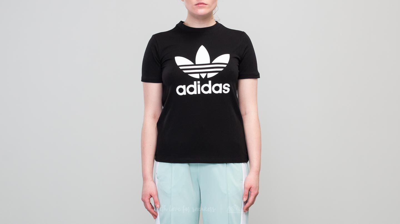 adidas Trefoil Shortsleeve Tee Black/ White za skvělou cenu 380 Kč koupíte na Footshop.cz