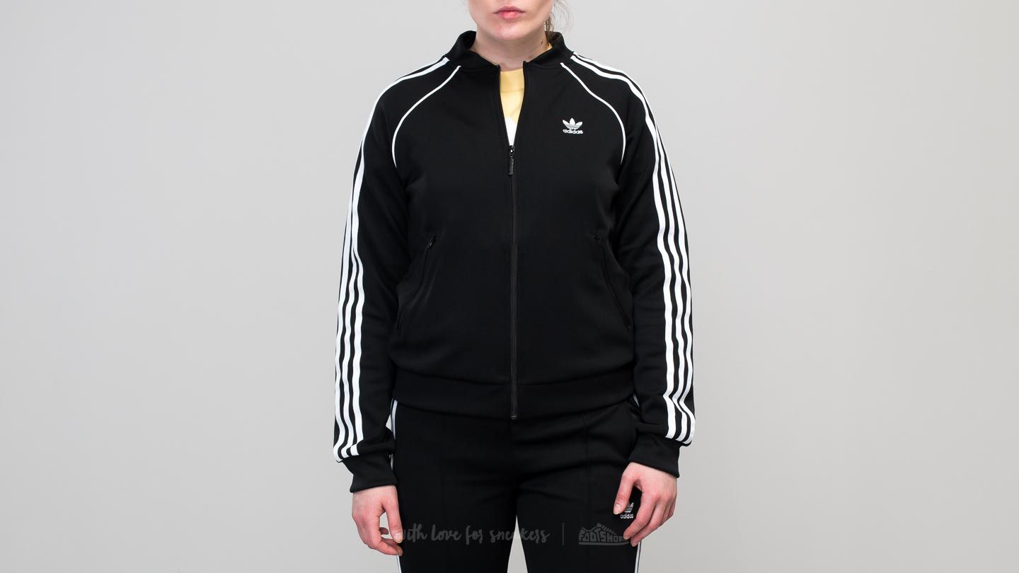 adidas Superstar Track Top Black at a great price 56 € buy at Footshop e7655579e37d