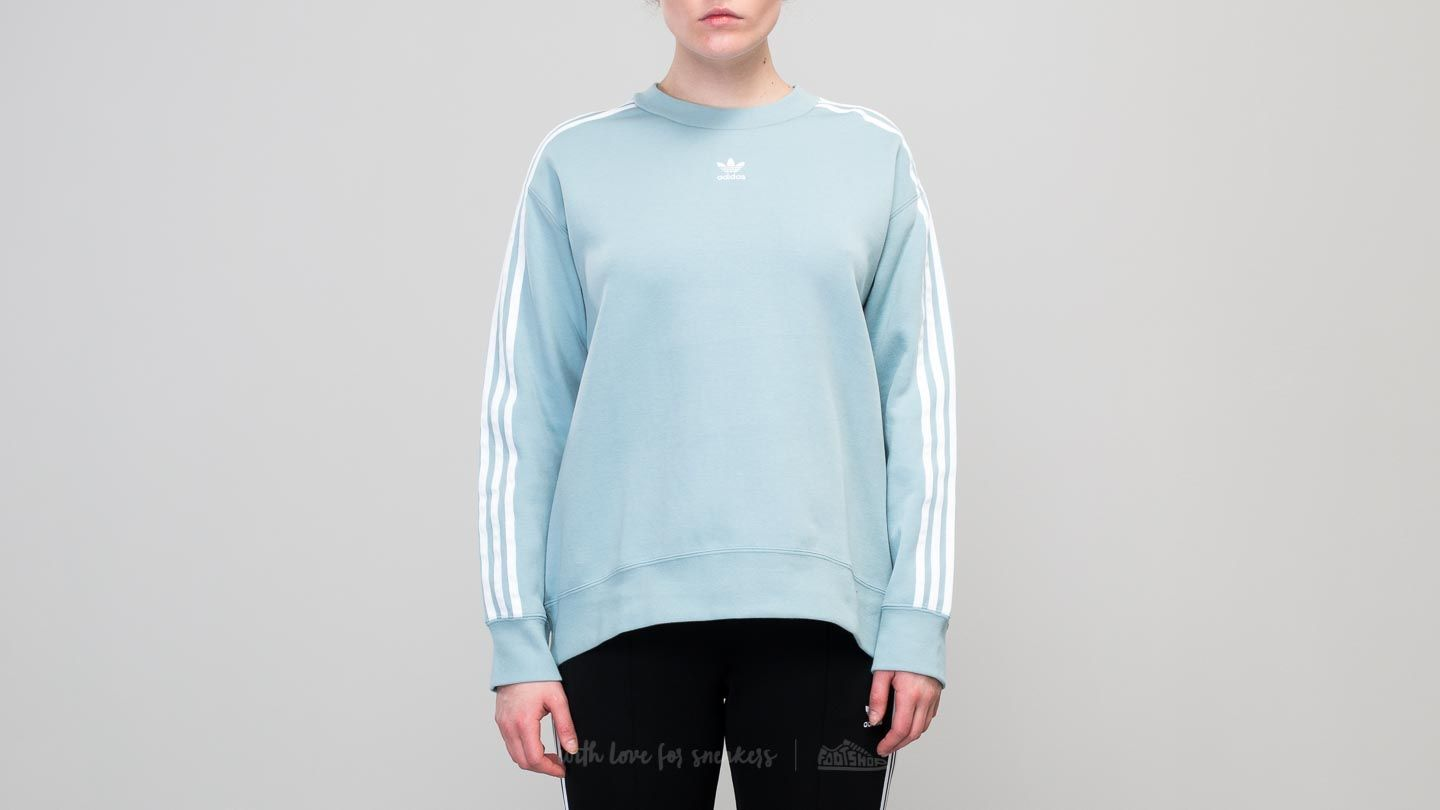 adidas Crew Sweater Ash Grey