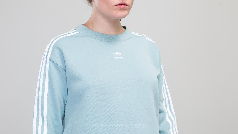 adidas Crew Sweater Ash Grey   Footshop