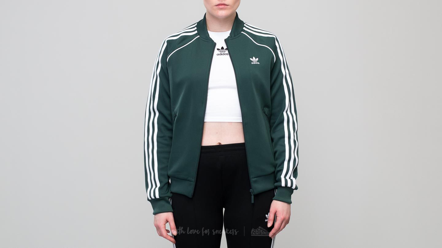 adidas Superstar Track Top Mineral Green  871c43512e9f