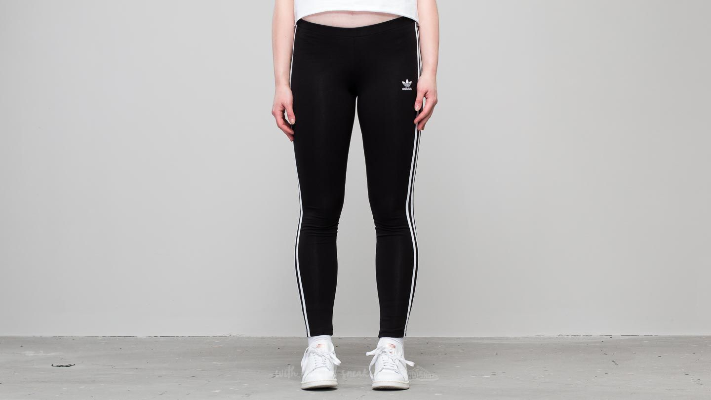 adidas 3 Stripes Tight Black