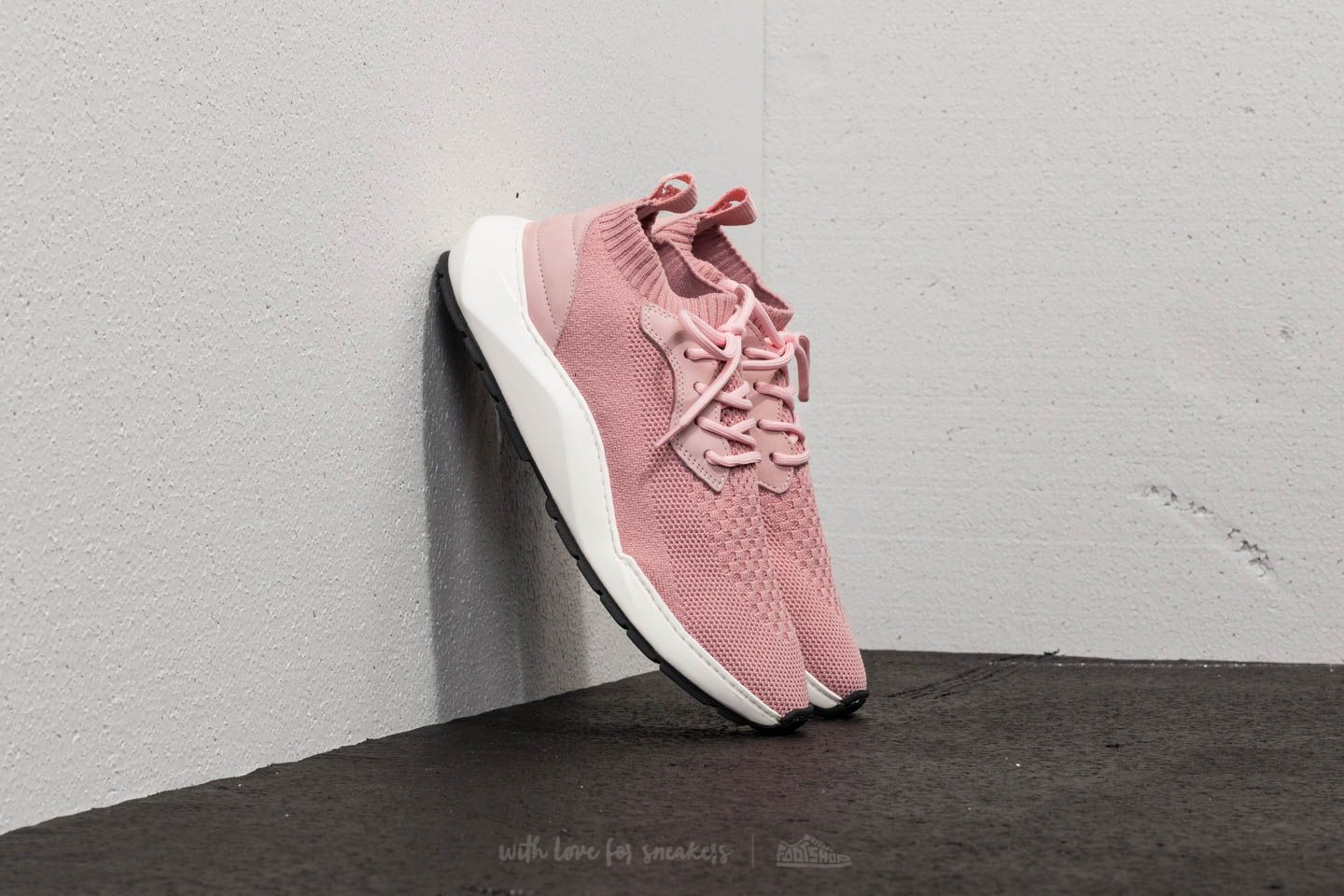 Women's shoes Filling Pieces Knit Speed Arch Runner Condor Light Pink