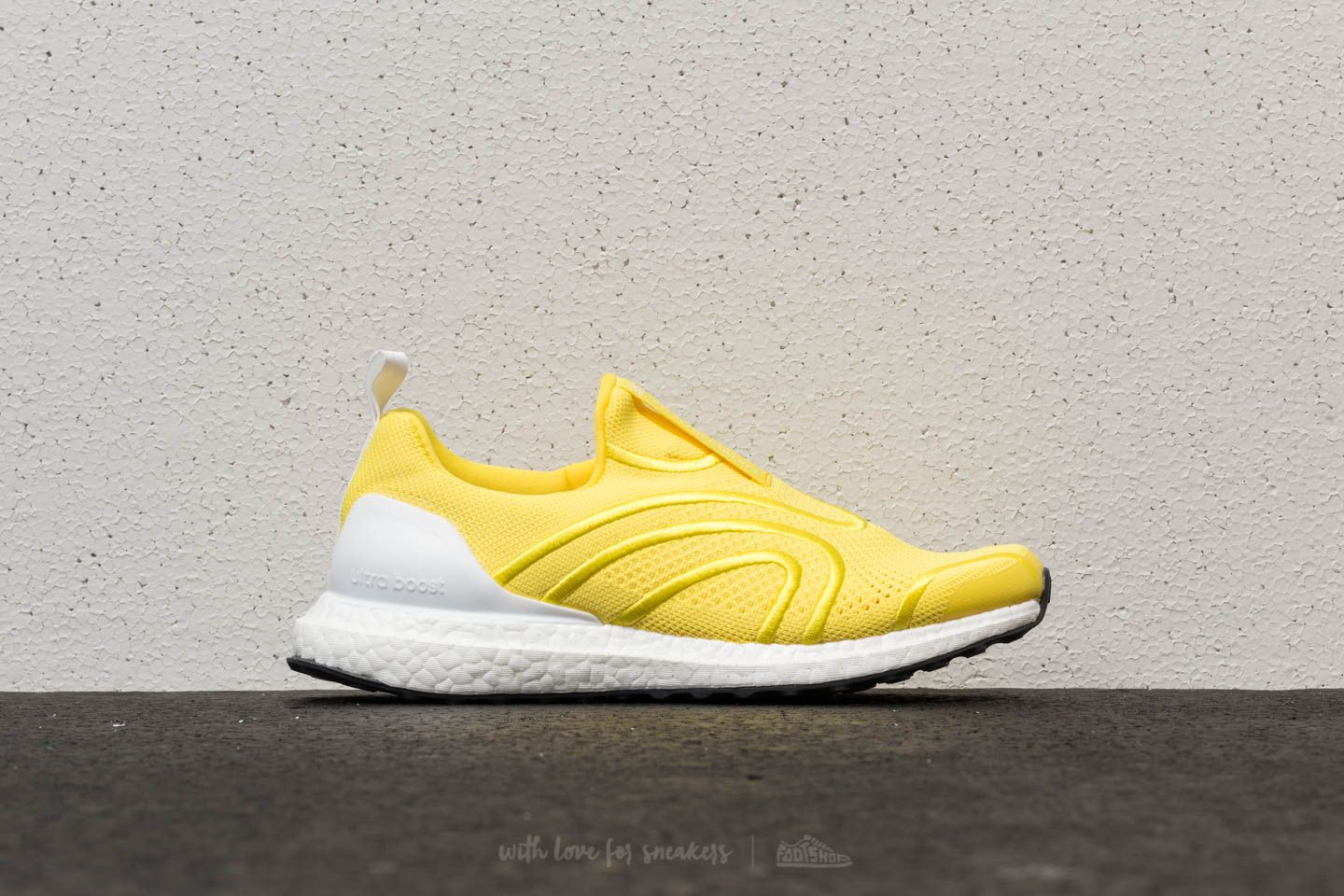 7d0fc262a adidas x Stella McCartney Ultraboost Uncaged Vivid Yellow  Ftw White  Night  Steel at a