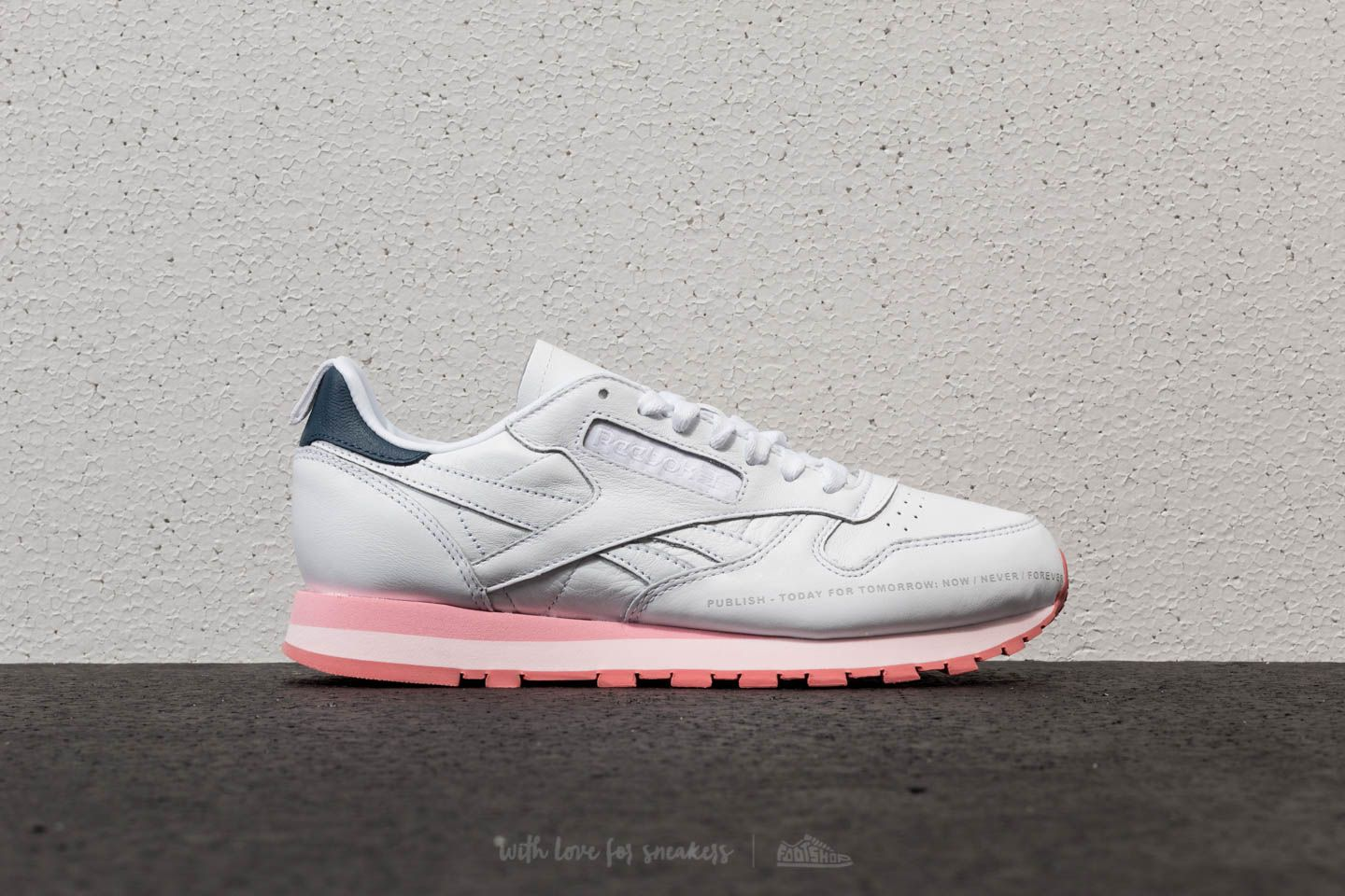 76d9c2b057d4 Reebok x Publish Classic Leather White  Steel  Porcelian Pink at a great  price 48