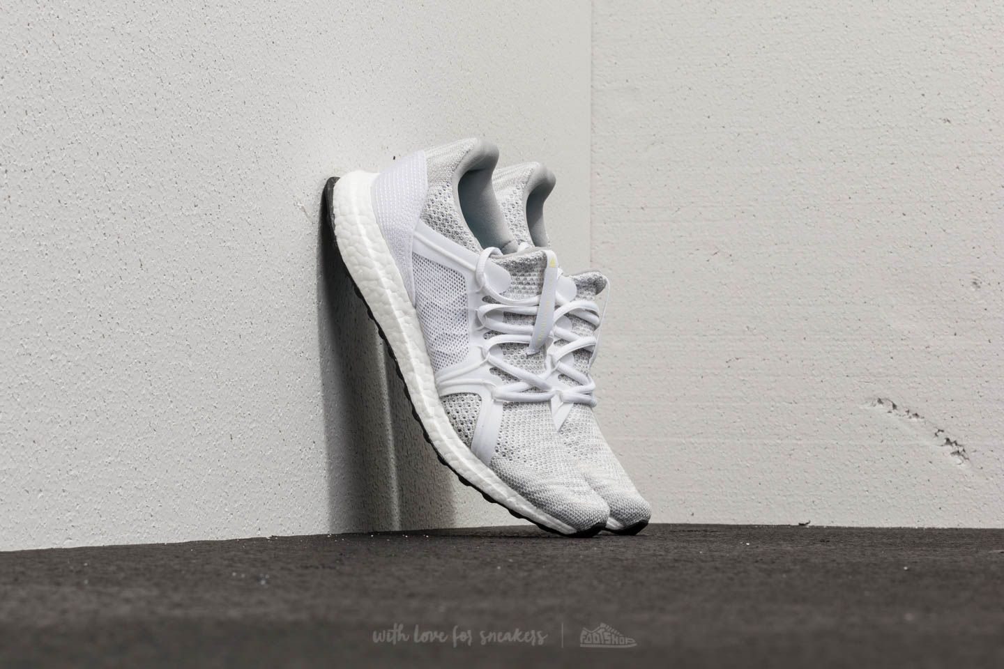 bc5250c2a adidas x Stella McCartney Ultraboost Parley Stone  Core White  Mirror Blue  at a great