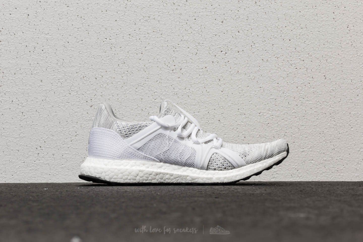 b6feb006ddb adidas x Stella McCartney Ultraboost Parley Stone  Core White  Mirror Blue  at a great