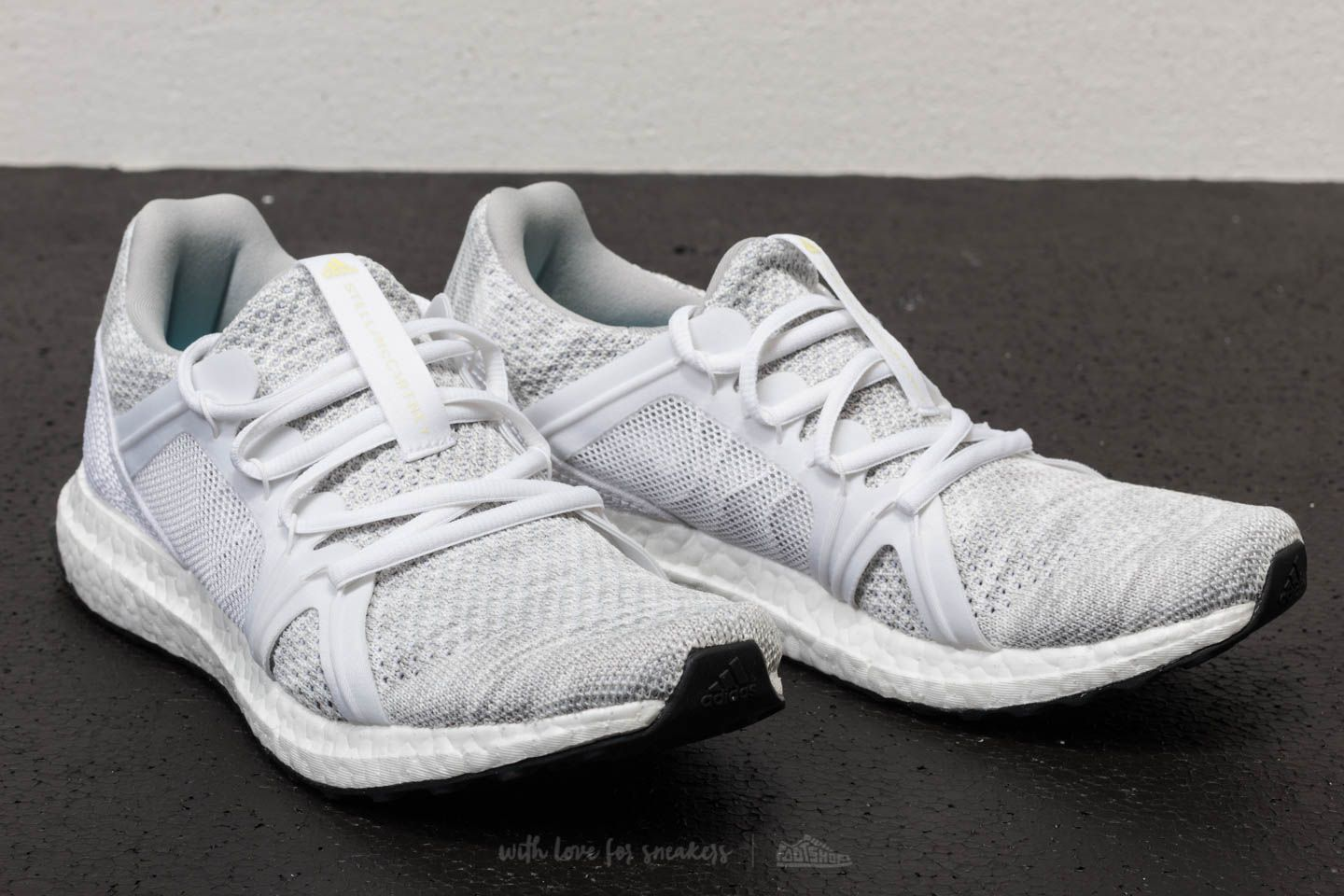 quality design 970f7 a7318 adidas x Stella McCartney Ultraboost Parley Stone  Core White  Mirror Blue  at a great