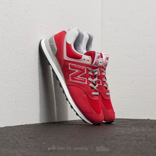 Men's shoes New Balance 574 Team Red