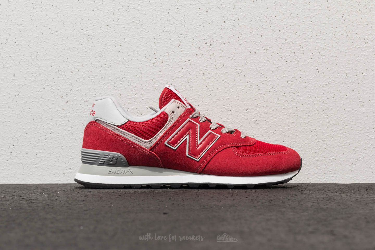 reputable site 4d4b9 d8cd0 New Balance 574 Team Red   Footshop