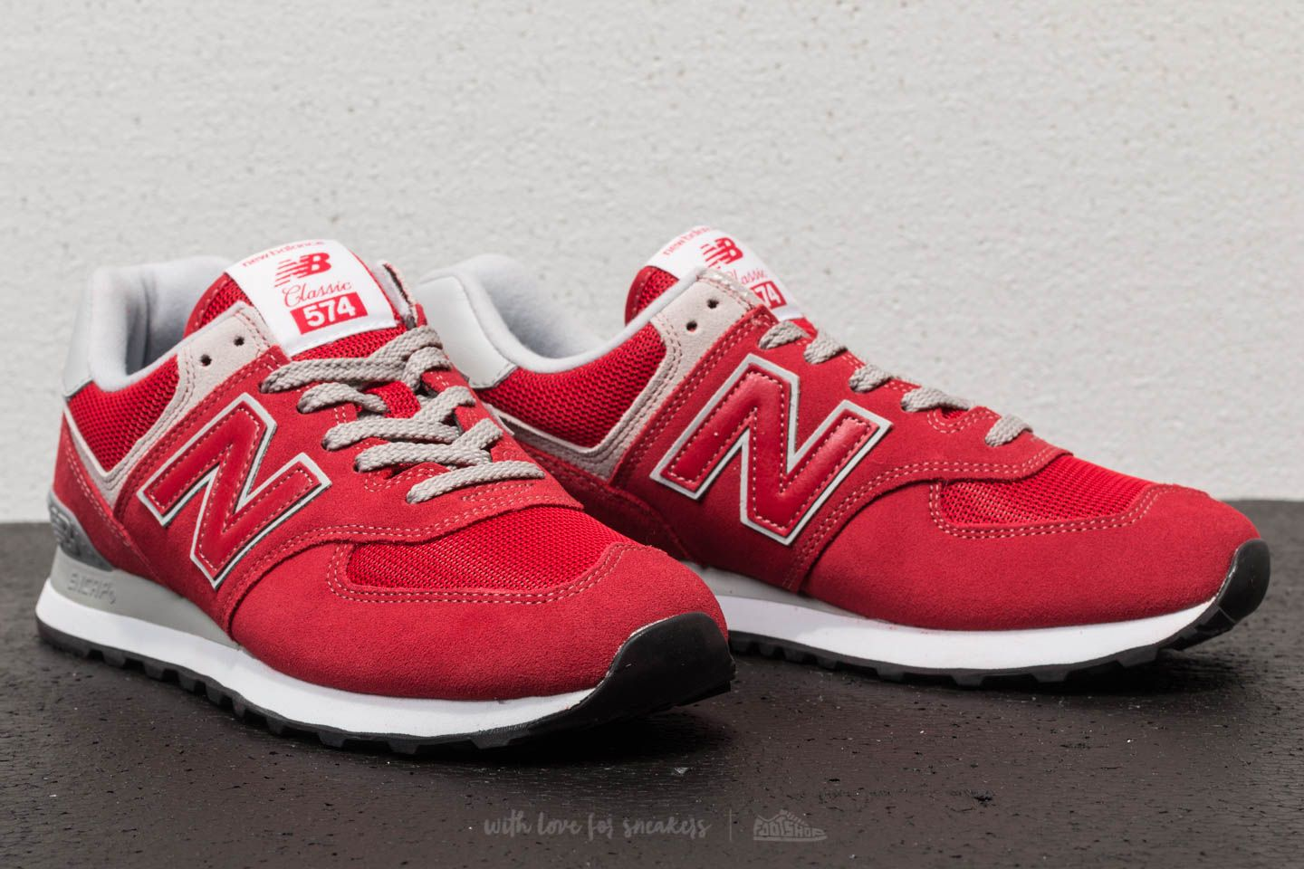 reputable site 4f618 56d09 New Balance 574 Team Red | Footshop