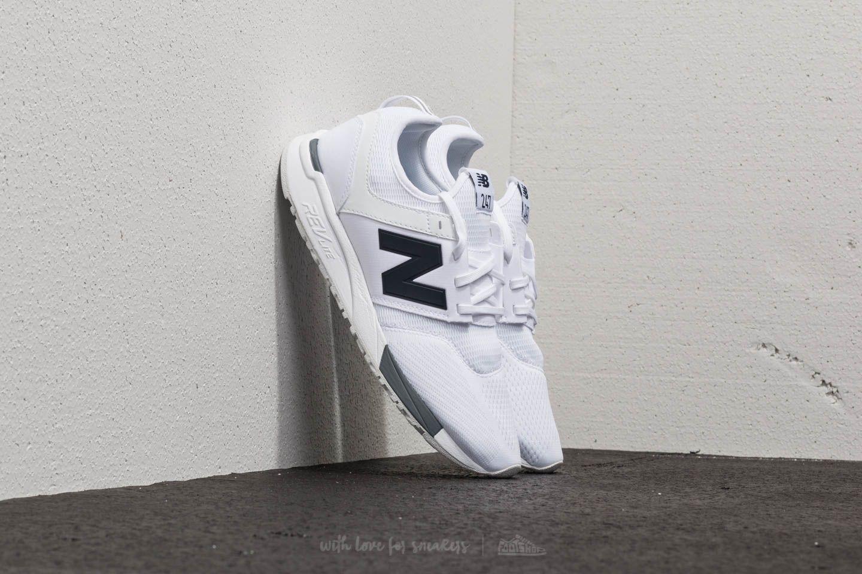 Pánské tenisky a boty New Balance 247 White/ Grey/ Navy