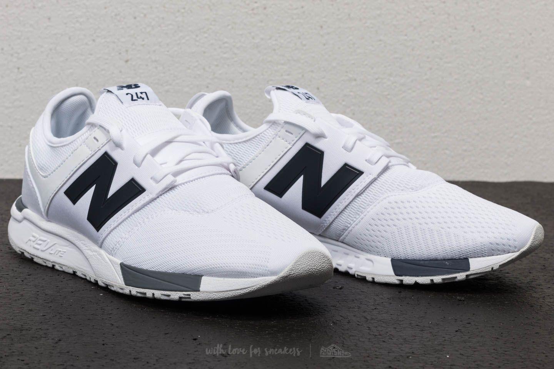 New Balance 247 White/ Grey/ Navy