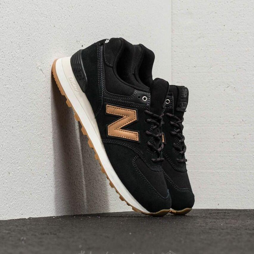 New Balance 574 Black/ Gum EUR 36.5