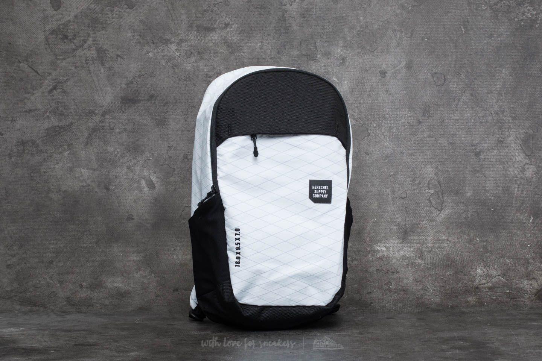 e0b4a77380d Herschel Supply Co. Mammoth Medium Backpack White  Black ...