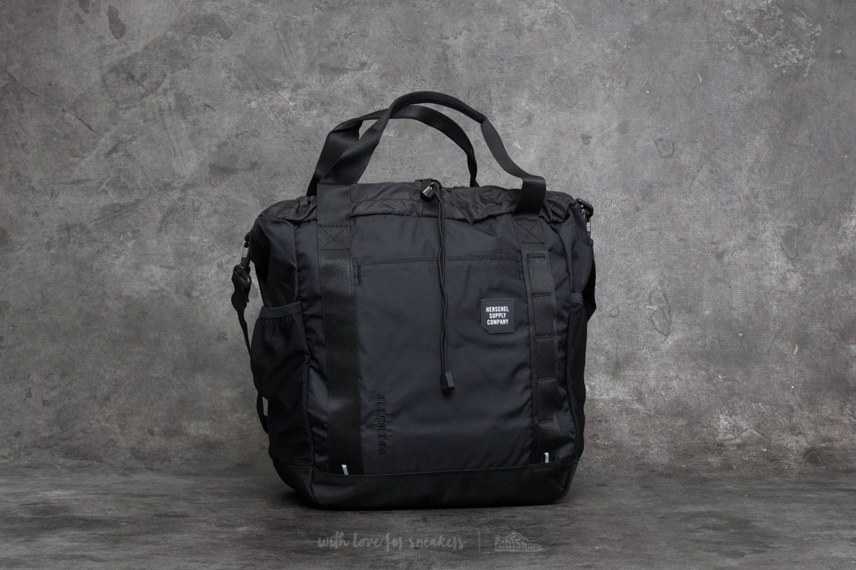 Herschel Supply Co. Barnes Tote Bag Black  Black  170bff6197596