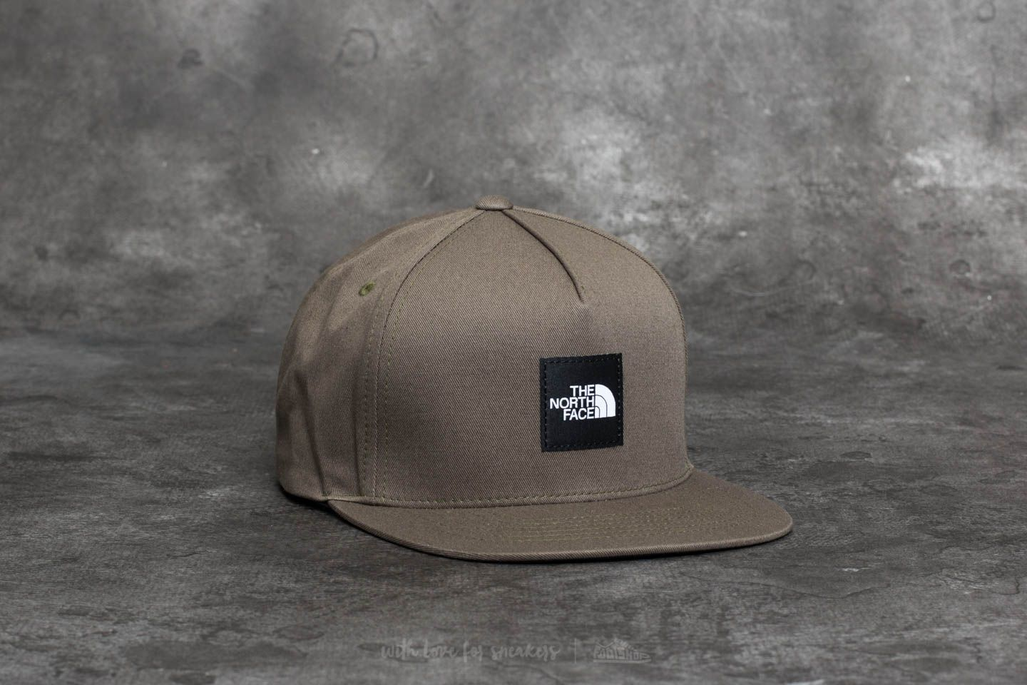 323bc1a6e055 The North Face Street Ball Cap New Taupe Green  Tnf Black