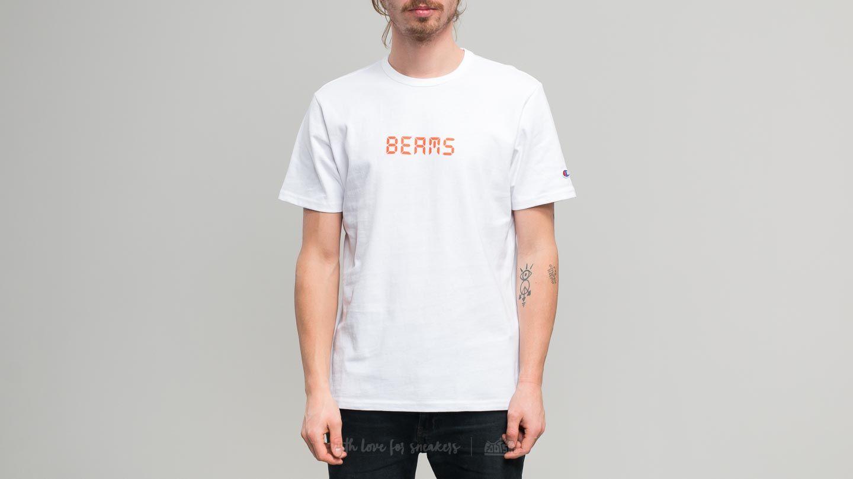 318fbdd5 Champion x Beams Crewneck T-Shirt White | Footshop