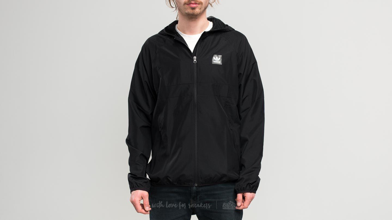 adidas Blackbird Wind Jacket Black Black | Footshop