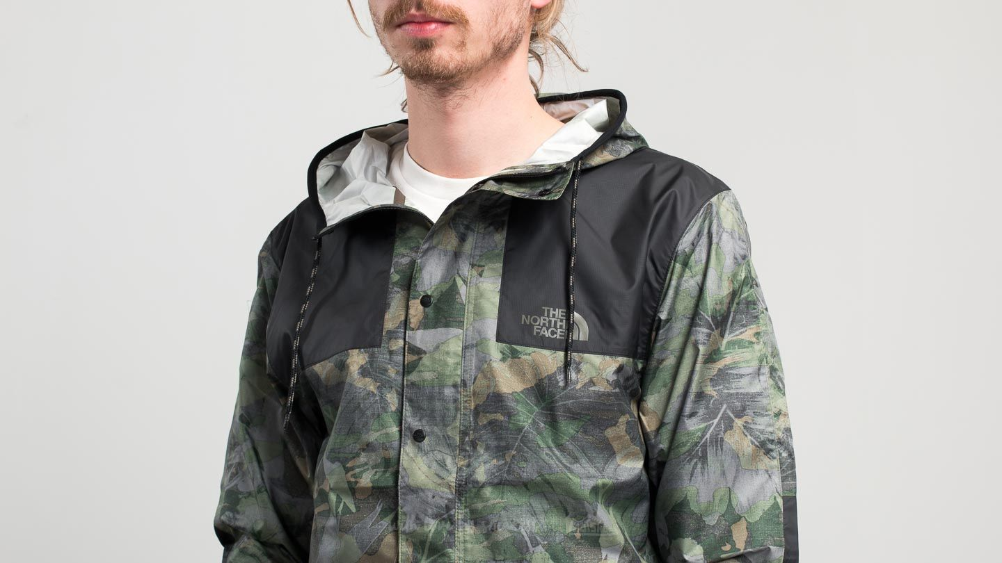 a5318a65f The North Face 1985 Mountain Jacket English Green Camo Print | Footshop