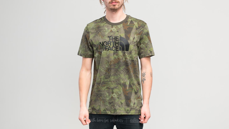 1cd798ac7 The North Face Shortsleeve Easy Tee English Green Camo Print | Footshop