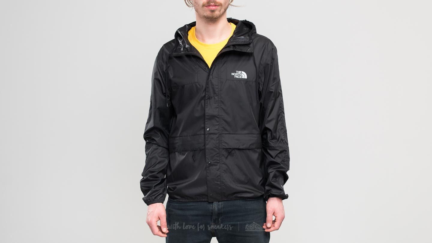 The North Face 1985 Mountain Jacket Tnf Black/ High Rise Grey