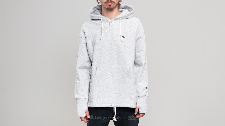 c299db3f11fb Champion x Beams Hooded Sweatshirt Light Oxford Grey
