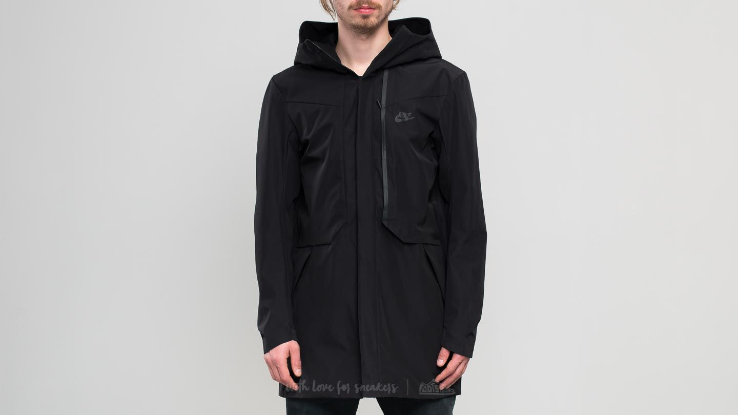 8caac9602599 Nike Sportswear Tech Shield Jacket Black