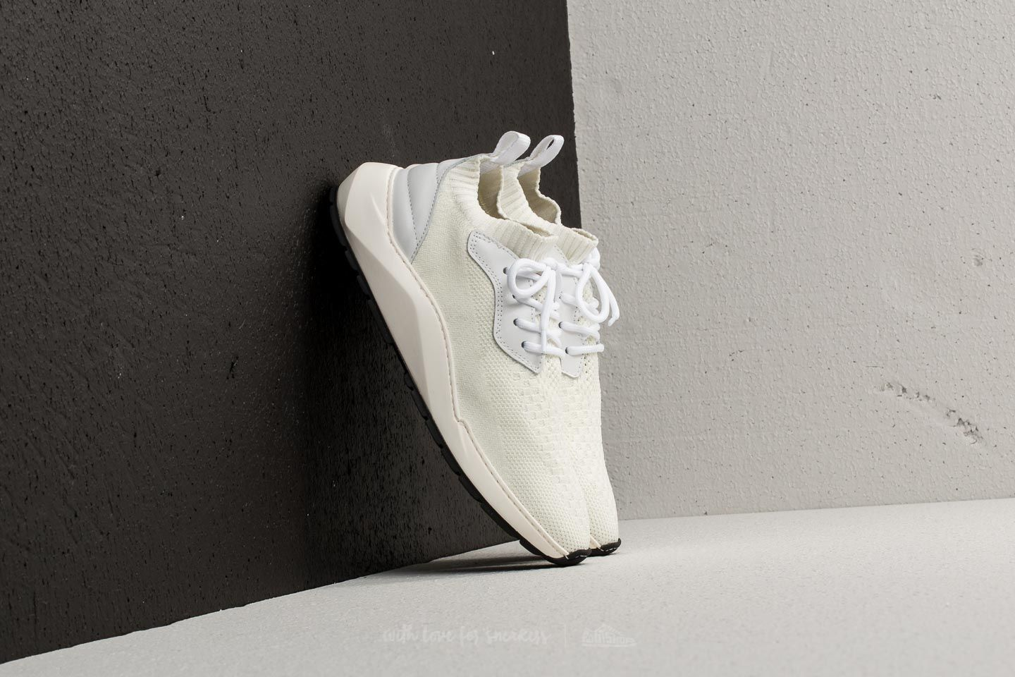 b71fd3600b2341 Filling Pieces Knit Speed Arch Runner Condor White at a great price £81 buy  at
