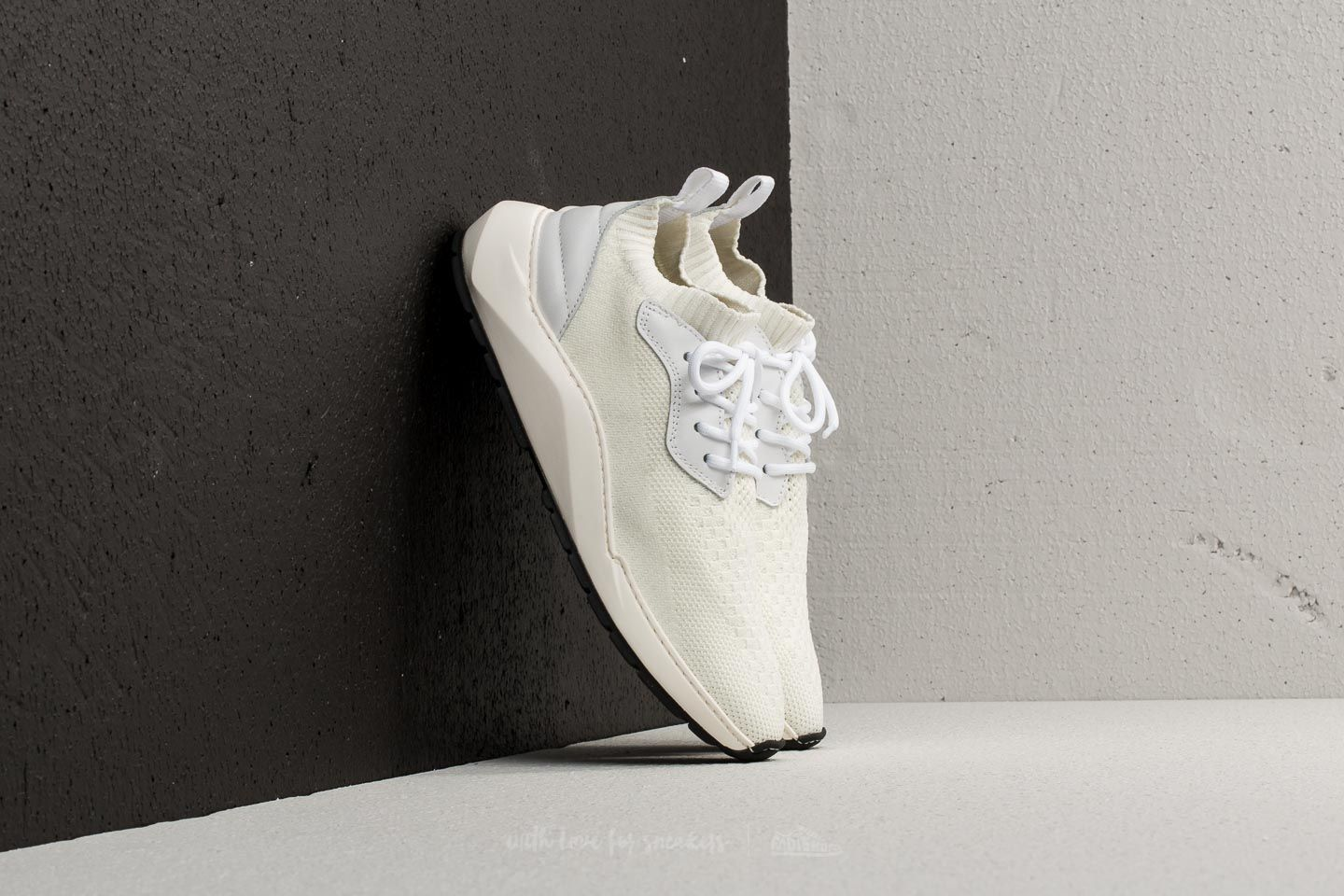 Filling Pieces Knit Speed Arch Runner Condor White
