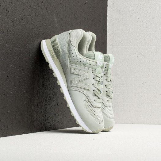 sale retailer 8d7d4 890e6 New Balance 574 Silver Mint | Footshop