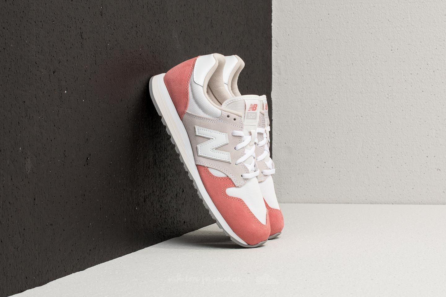 New Balance 520 Dusted Peach/ White