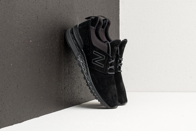 new balance 574 noire et blanche