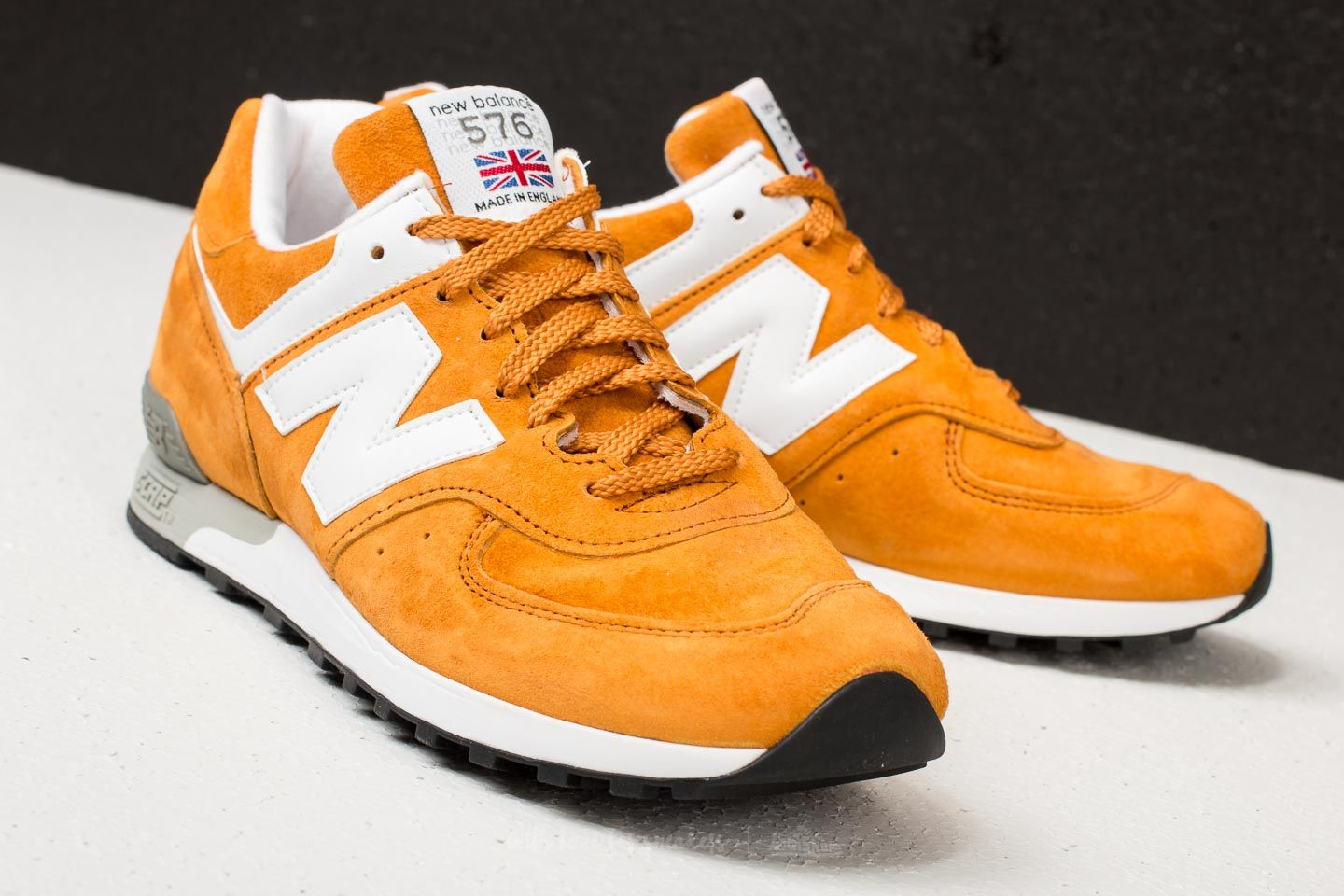 taille 40 9ed28 4f597 New Balance 576 Mustard Yellow/ White | Footshop