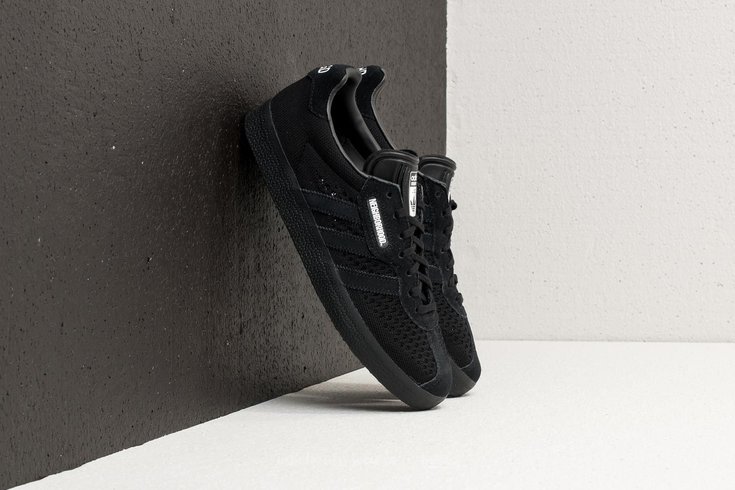 separation shoes 70bcd fca37 adidas x Neighborhood Gazelle Super Core Black Core Black  Footshop
