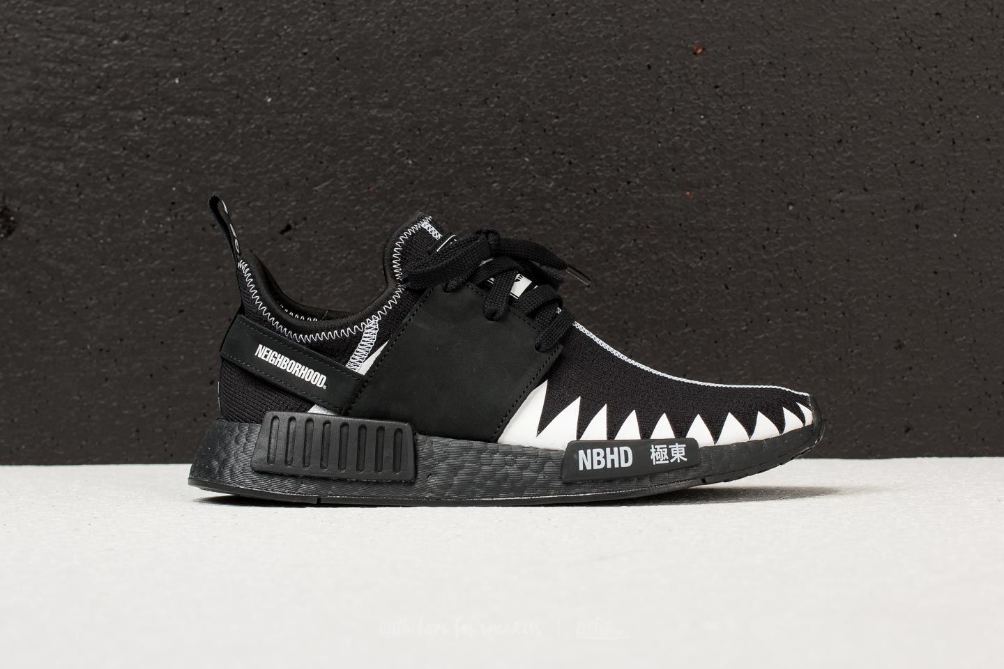 buy online 5def4 b7c22 adidas x Neighborhood NMD R1 Primeknit Black/ Black/ White ...