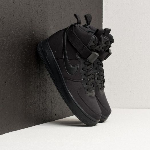 Nike Air Force 1 High '07 Canvas Black/ Black-Anthracite ...