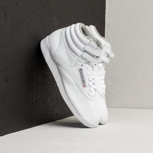 Reebok Freestyle Hi White  Carbon  Red  Grey 697369db1
