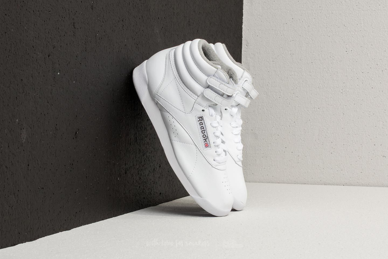 Reebok Freestyle Hi White/ Carbon/ Red/ Grey za skvělou cenu 1 550 Kč koupíte na Footshop.cz