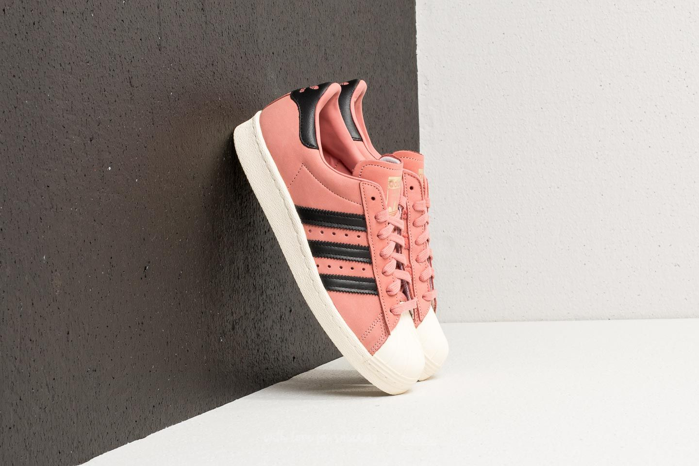 uk availability 32ef8 b833f adidas Superstar 80s W. Ash Pink Core Black Cream White