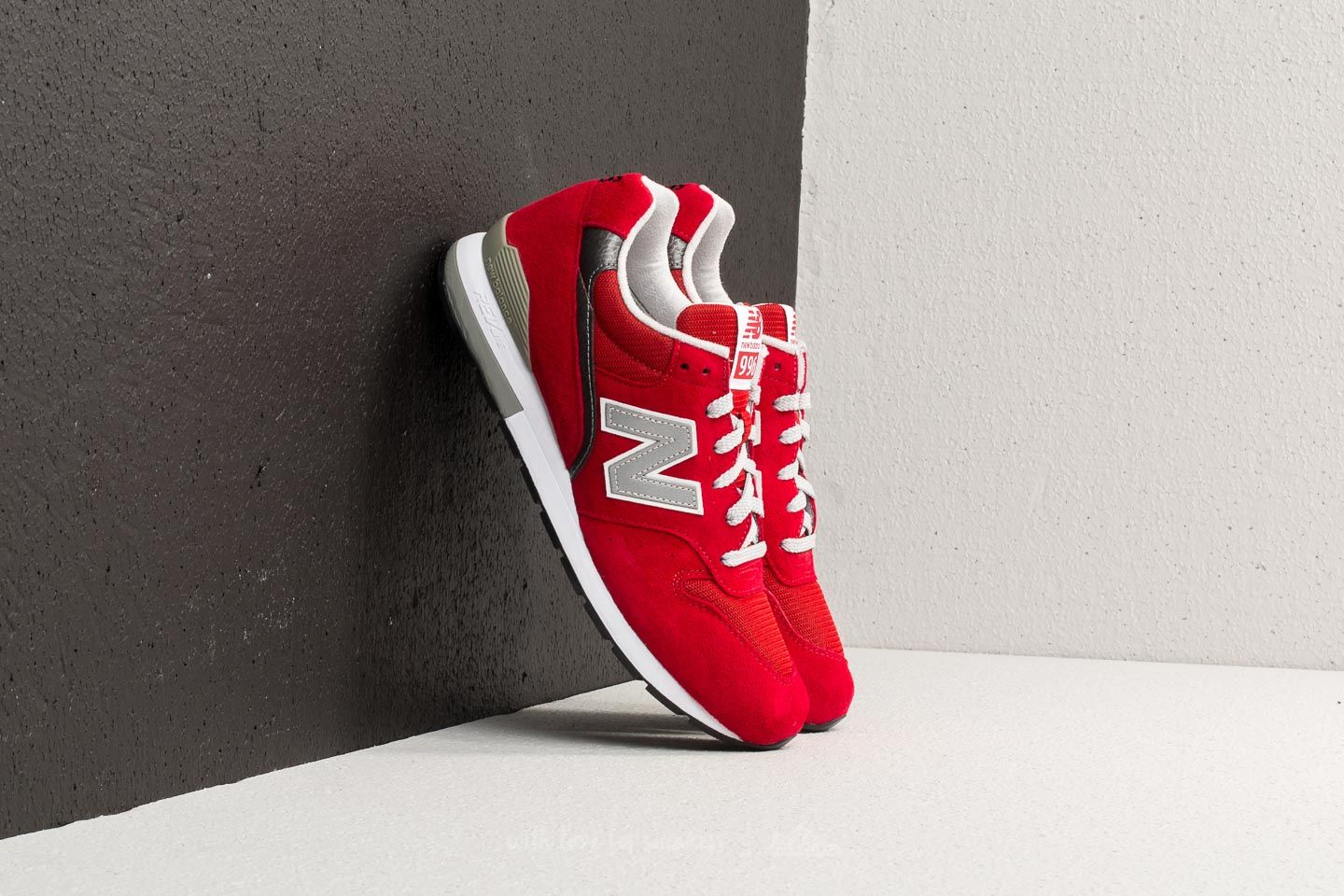 new style faba7 49117 New Balance 996 Red