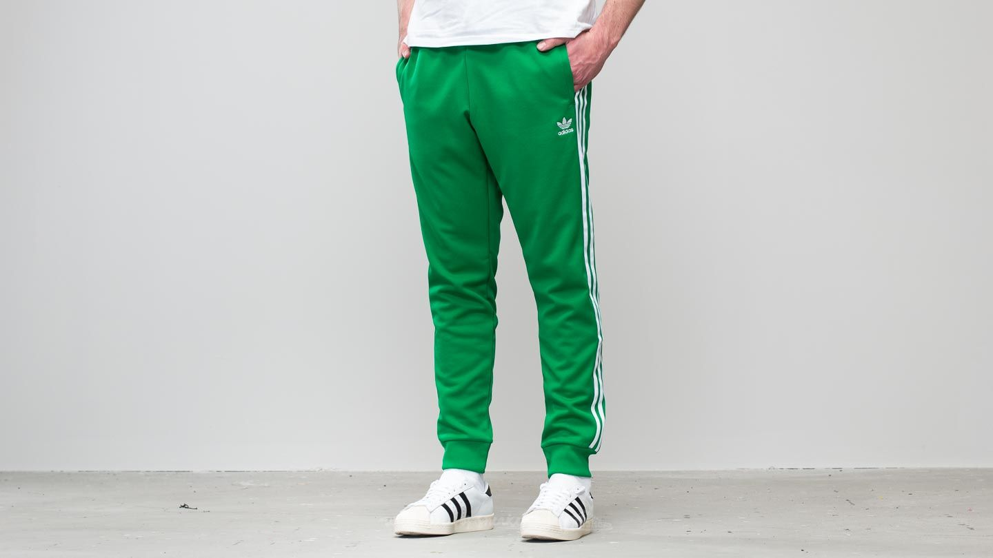 online store 08e94 d05f5 adidas Superstar Track Pant Green