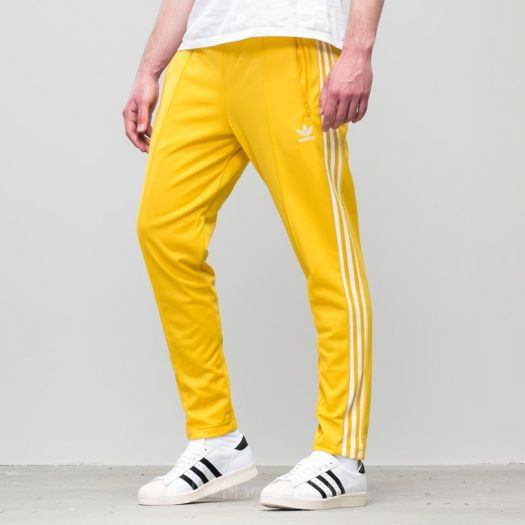 adidas Beckenbauer Track Pant Tribe Yellow   Footshop