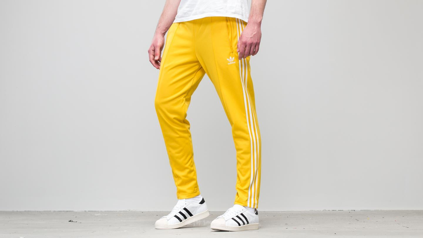 official photos 4a080 eb9ae adidas Beckenbauer Track Pant Tribe Yellow